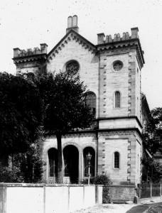 Die Synagoge 1893