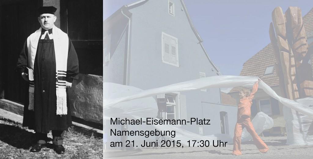 Breisach Namensgebung Michael-Eisemann-Platz