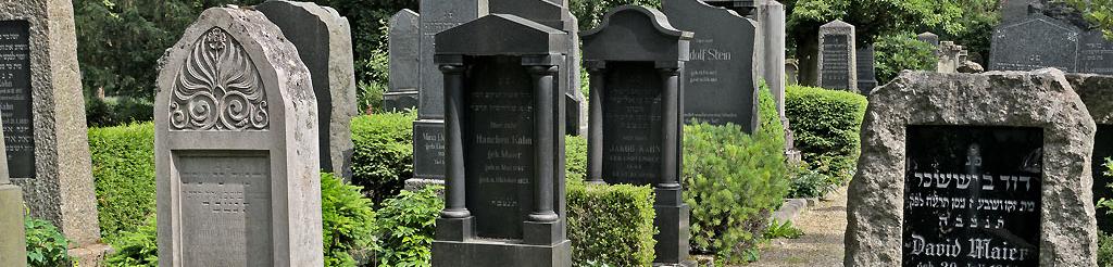 Jüdischer Friedhof Offenburg_Foto: K. Schlessmann