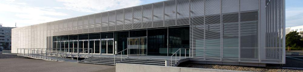 Eingang Dokumentationszentrum, 2010, © Bildwerk / Stiftung Topographie des Terrors